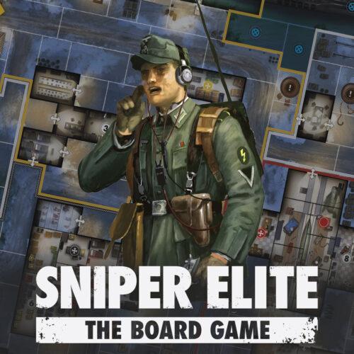 Sniper Elite: The Board Game Specialist Spotlight – The Radio Operator