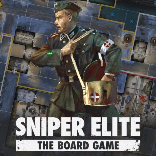 Sniper Elite: The Board Game Specialist Spotlight – The Medic