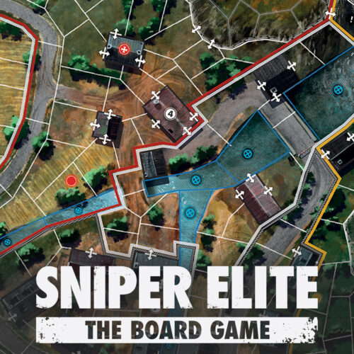 Sniper Elite: The Board Game – The Heavy Water Facility Map