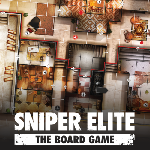 Infiltrating the Eagle's Nest in Sniper Elite: The Board Game