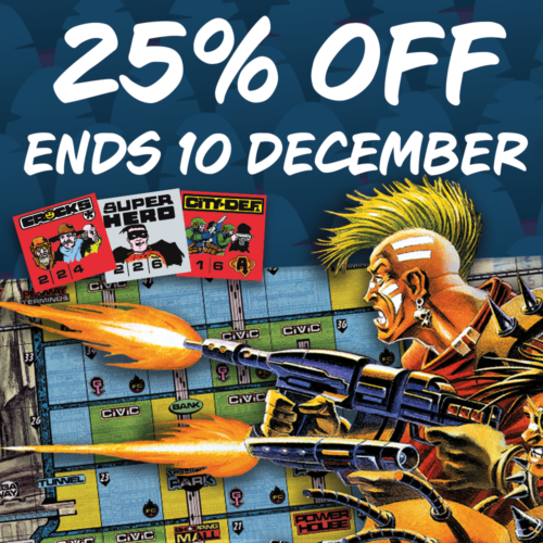 Get your game on – 25% off Block Mania, Mega Mania, and Tartarus Gate!